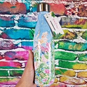 Lilly Pulitzer RARE Starbucks Swell Bottle NWT
